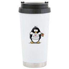 Maryland Penguin Travel Coffee Mug