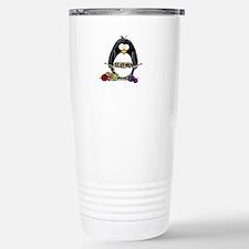 Knitting Penguin Travel Mug