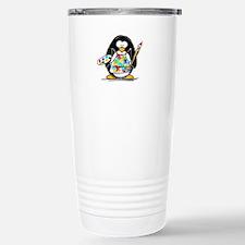 Artist penguin Travel Mug