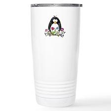Garden penguin Stainless Steel Travel Mug
