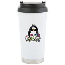 Garden penguin Travel Mug