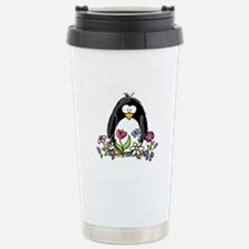 Garden penguin Travel Mug