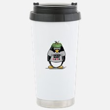 Poker Penguin Travel Mug