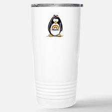 Gay Pride Girl Penguin Travel Mug