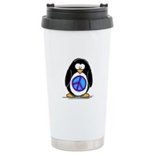 Peace penguin Travel Mug