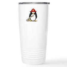 Fireman penguin Travel Mug