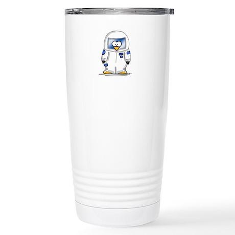 Astronaut Penguin Stainless Steel Travel Mug