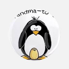 "Grandma to Be Penguin 3.5"" Button"
