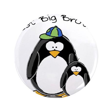 "Best Big Brother penguins 3.5"" Button"
