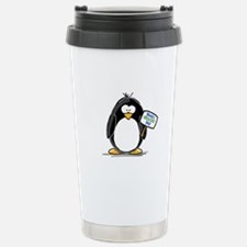 World's Greatest Dad Penguin Stainless Steel Trave