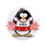 Red CheerLeader Penguin 3.5