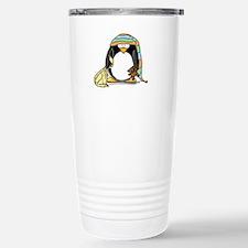 Bedtime Penguin Stainless Steel Travel Mug