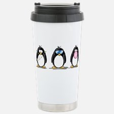Hear, See, Speak No Evil Peng Travel Mug