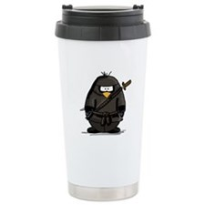 Martial Arts ninja penguin Travel Mug