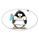 ipenguin Penguin Oval Sticker