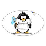 ipenguin Penguin Oval Sticker