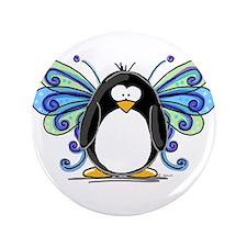 """Blue Fairy Penguin 3.5"""" Button"""