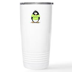 Geek penguin Stainless Steel Travel Mug