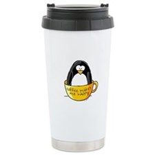 Coffee penguin Travel Mug