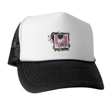 Pug Mom Trucker Hat