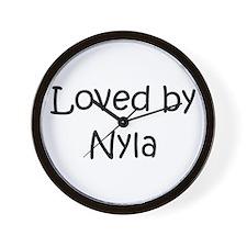 Unique Nyla Wall Clock