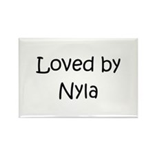 Funny Nyla Rectangle Magnet