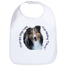 Therapy Animals Have the Healing Touch! Bib