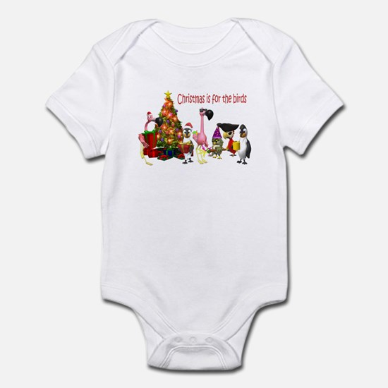 CHRISTMAS IS FOR THE BIRDS Infant Bodysuit