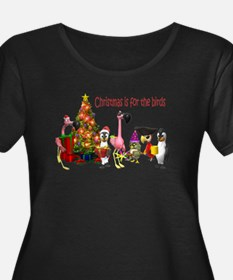 CHRISTMAS IS FOR THE BIRDS T