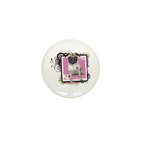 Pug Mini Button (10 pack)