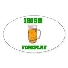 IRISH Oval Sticker (10 pk)