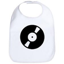 Retro Classic Vinyl Record Bib