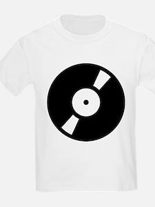 Retro Classic Vinyl Record T-Shirt
