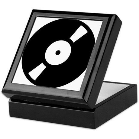 Retro Classic Vinyl Record Keepsake Box