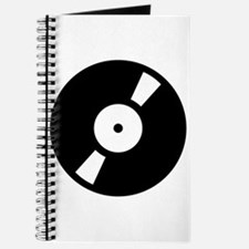 Retro Classic Vinyl Record Journal