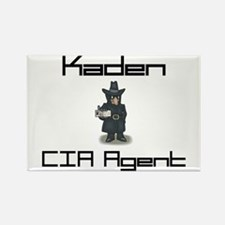 Kaden - CIA Agent Rectangle Magnet