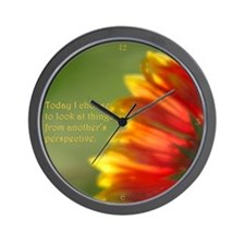 Different Perspectives Wall Clock