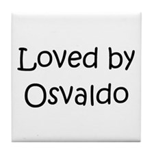 Cute Osvaldo Tile Coaster