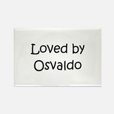 Funny Osvaldo Rectangle Magnet