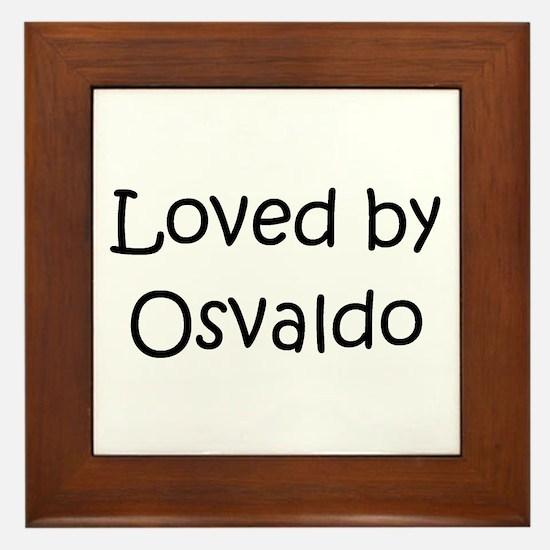 Cute Osvaldo Framed Tile