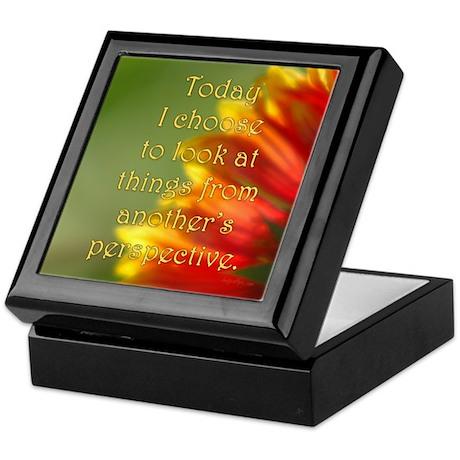 Different Perspectives Keepsake Box