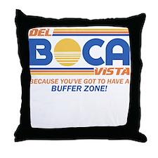 Del Boca Vista Seinfeld Throw Pillow