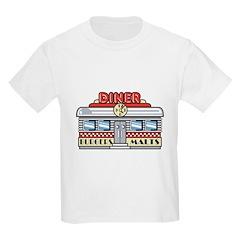 Retro Fast Food Diner Design T-Shirt