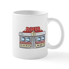 Retro Fast Food Diner Design Mug