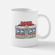 Retro Fast Food Diner Design Small Small Mug