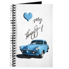 Helaine's Torquoise Henry J Too Journal