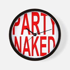 Cool Naked Wall Clock