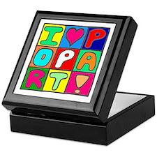 'Love Pop Art' Keepsake Box