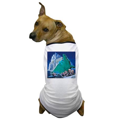 Sinking Ship Dog T-Shirt