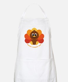 Happy Turkey Day BBQ Apron